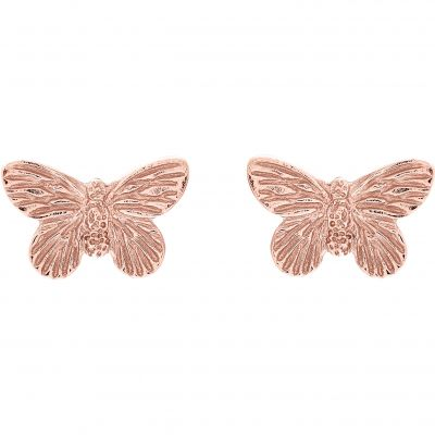 Biżuteria Olivia Burton Jewellery 3D Butterfly Stud Earrings OBJ16MBE02
