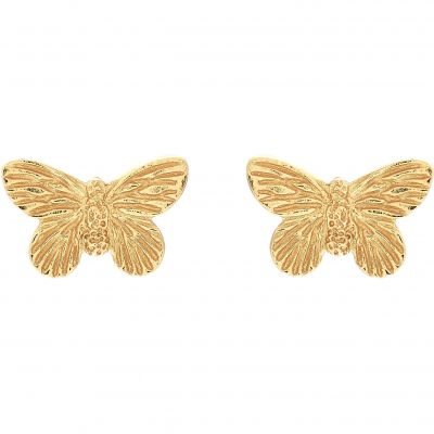 Biżuteria Olivia Burton Jewellery 3D Butterfly Stud Earrings OBJ16MBE01