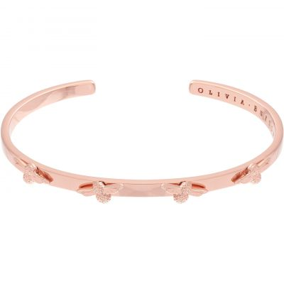 3D Bee Rose Gold Bangle OBJ16AMB34