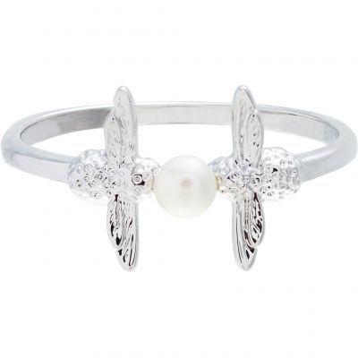 Pearl Bee Silver (M) Ring OBJ16AMR13M