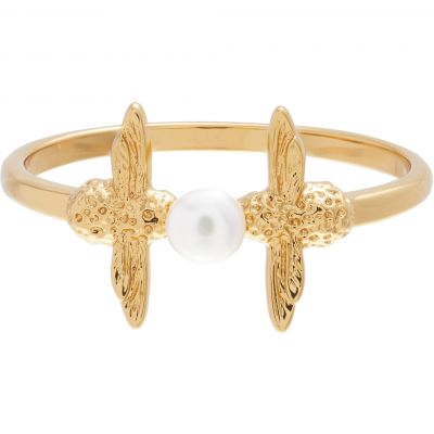 Pearl Bee Gold (L) Ring OBJ16AMR11L