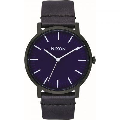 Nixon The Porter Leather Unisexuhr A1058-2668