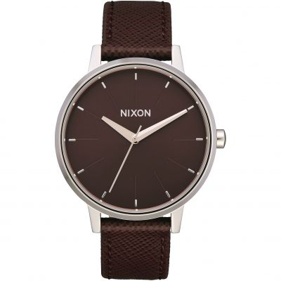 Nixon The Kensington Leather Dameshorloge A108-2990