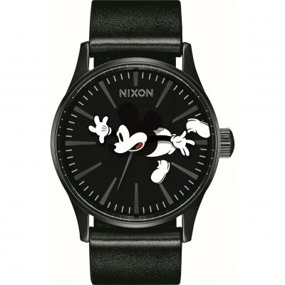 Montre Unisexe Nixon The Sentry Leather A105-3093