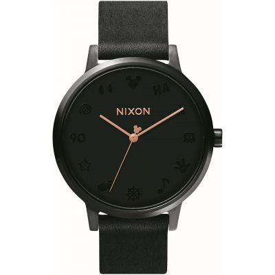 Montre Femme Nixon The Kensington Leather A108-3096