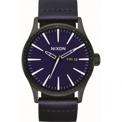 Montre Homme Nixon The Sentry Leather A105-2668