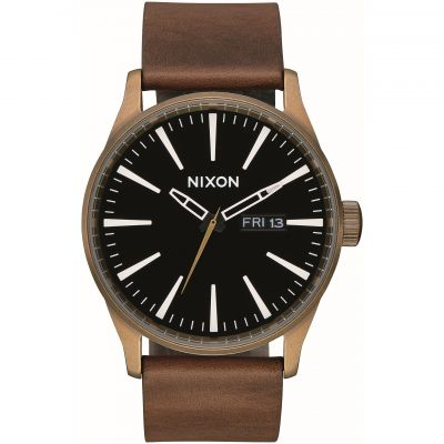 Montre Homme Nixon The Sentry Leather A105-3053