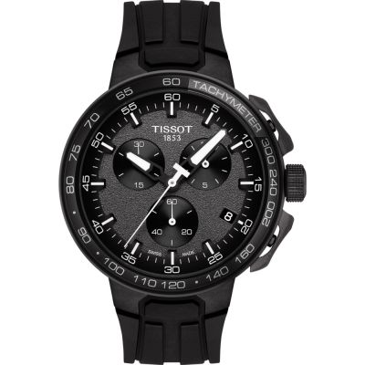 Tissot T-Race T-Race Cycling Herrenchronograph in Schwarz T1114173744103