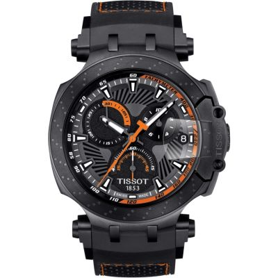 Tissot T-Race Limited Edition Moto GP 2018 Marc Marquez Herrenchronograph in Schwarz T1154173706105