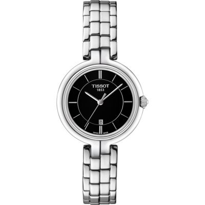 Tissot Flamingo Flamingo Damenuhr in Silber T0942101105100