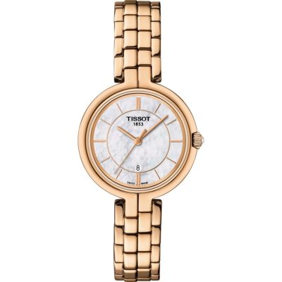 Tissot Flamingo Flamingo Damenuhr in Rosa T0942103311101