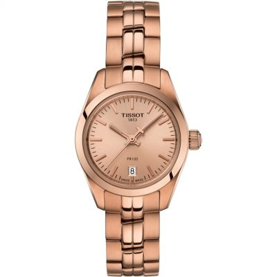 Tissot Ladies 25mm PR100 Damenuhr in Rosa T1010103345100