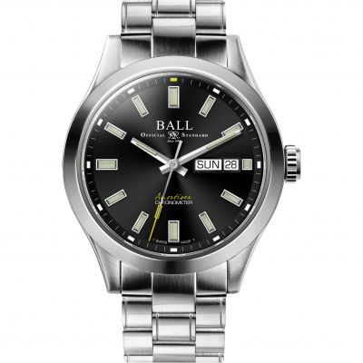 Ball Engineer III Endurance 40mm Herenhorloge Zilver NM2182C-S4C-BK