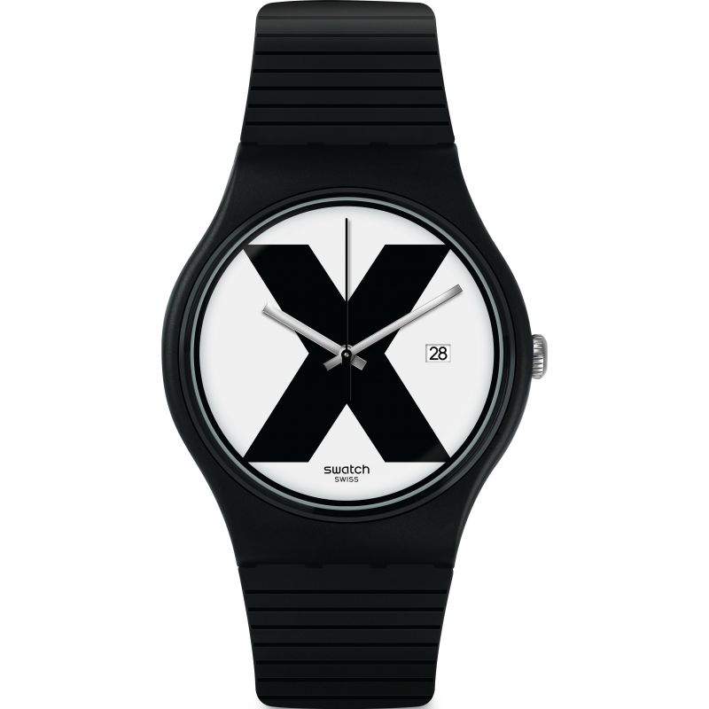 Unisex Swatch Watch SUOB402 for £54