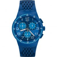 Swatch TRIPLE BLUE Watch