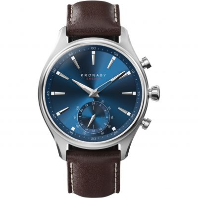 Mens Kronaby Sekel 41 Bluetooth Hybrid Watch A1000-3120