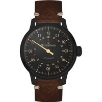 Meistersinger Perigraph Black Edition Watch