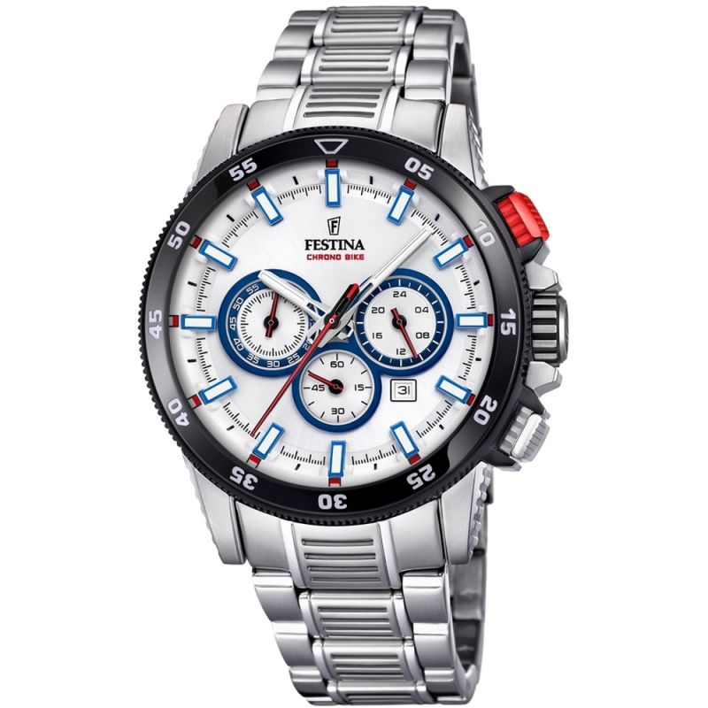 Mens Festina Chrono Bike 2018 Collection Chronograph Watch