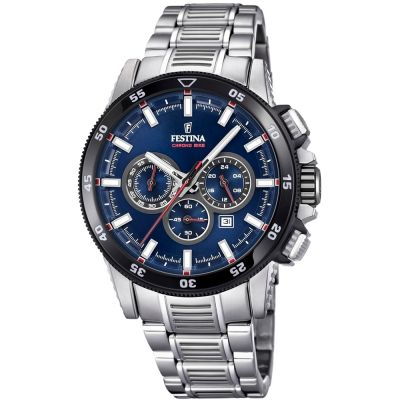 Mens Festina Chrono Bike 2018 Collection Chronograph Watch F20352/3