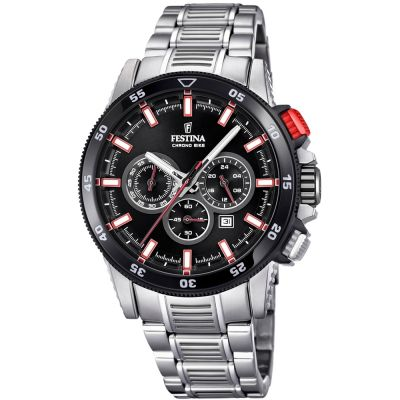 Mens Festina Chrono Bike 2018 Collection Chronograph Watch F20352/4