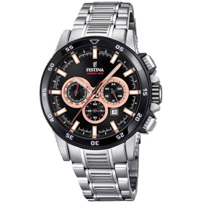 Montre Chronographe Homme Festina Chrono Bike 2018 Collection F20352/5