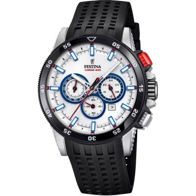 Mens Festina Chrono Bike 2018 Collection Chronograph Watch F20353/1