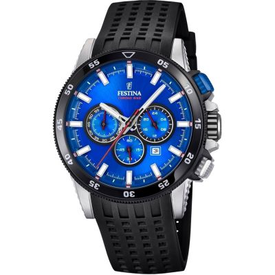 Mens Festina Chrono Bike 2018 Collection Chronograph Watch F20353/2