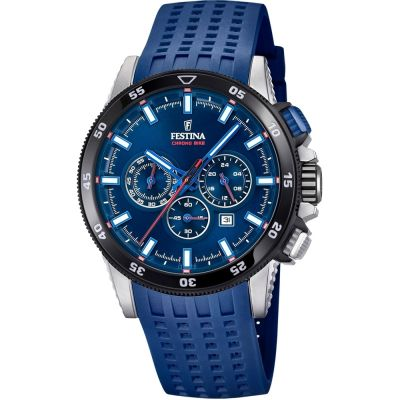 Mens Festina Chrono Bike 2018 Collection Chronograph Watch F20353/3