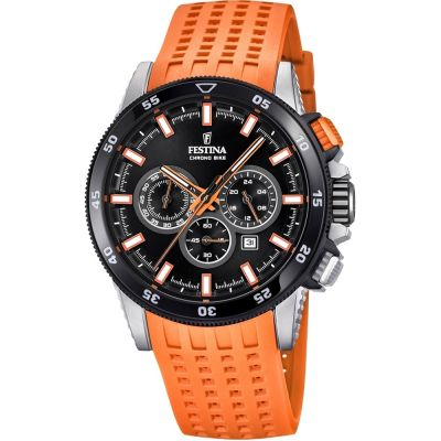 Mens Festina Chrono Bike 2018 Collection Chronograph Watch F20353/6
