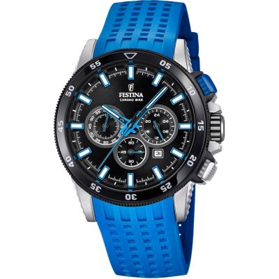 Mens Festina Chrono Bike 2018 Collection Chronograph Watch F20353/7
