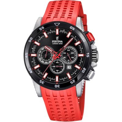 Mens Festina Chrono Bike 2018 Collection Chronograph Watch F20353/8