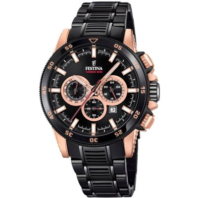 Mens Festina Chrono Bike 2018 Collection Special Edition Chronograph Watch F20354/1