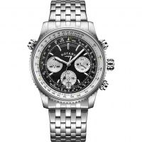 Rotary Gents Exclusive Chronograph Watch