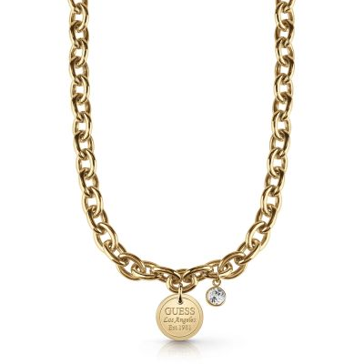 Guess Dam Gold Necklace UBN28057