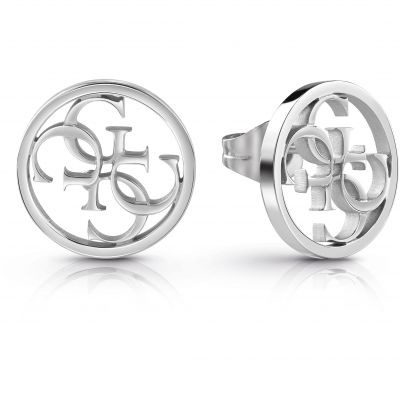 Guess Dam Silver Earrings UBE28073