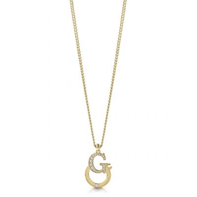 Guess Dam Gold Necklace UBN28063