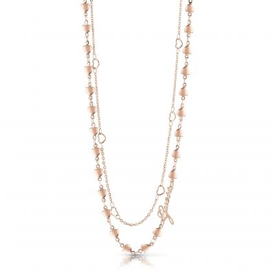 Guess Dam Rose Gold Necklace UBN28002