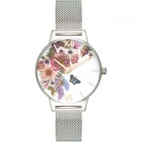 Ladies Olivia Burton Enchanted Garden Watch OB16EG103