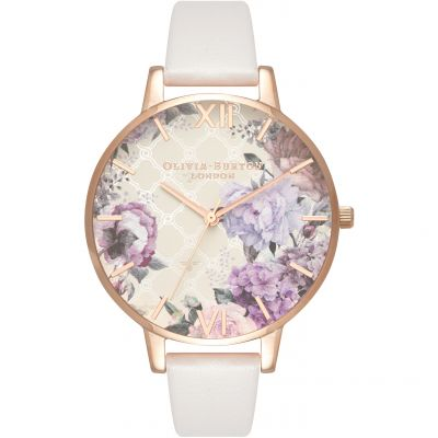 Glasshouse Nude Floral & Blush Watch