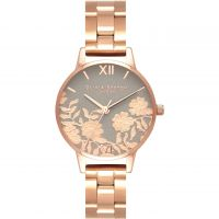 Ladies Olivia Burton Lace Detail Watch OB16MV88