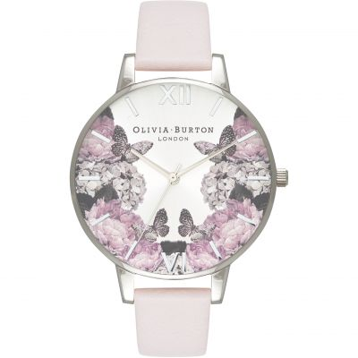 Signature Florals Blush & Silver Watch