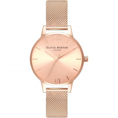 Sunray Dial Gold & Rose Gold Watch