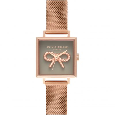 Olivia Burton Sunray Dial Sunray Dial Rose Gold & Rose Gold Damenuhr in Rosegold OB16VB10