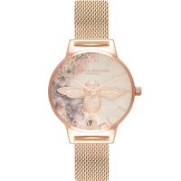 Ladies Olivia Burton Watercolour Florals Watch OB16PP40