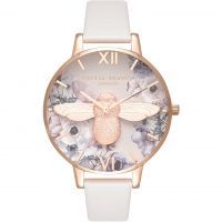 Ladies Olivia Burton Watercolour Florals Watch OB16PP41