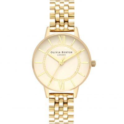 Montre Femme Olivia Burton Wonderland Rose Gold And Silver & Gold OB16WD69