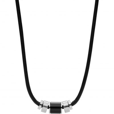 Fossil Heren Mens Dress Necklace Roestvrijstaal JF02926040