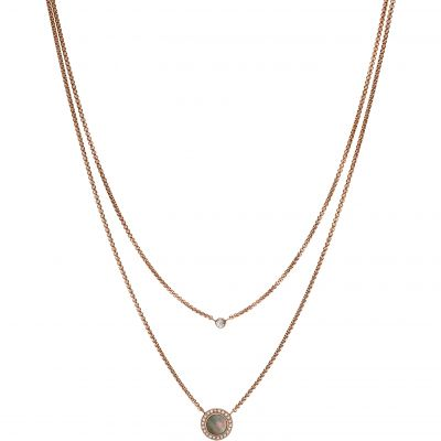 Bijoux Femme Fossil Classics Collier JF02953791