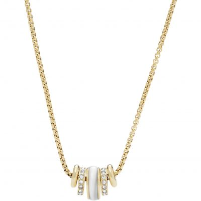 Bijoux Femme Fossil Classics Collier JF02957710