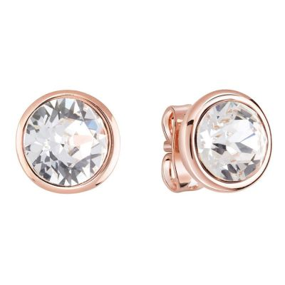 Ladies Guess Ube84118 Rose Gold Earrings